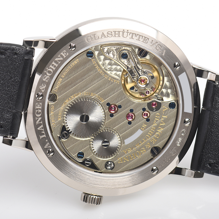 new style e7be9 002a1 201.027 サクソニア フラッハ 37mm|ランゲ&ゾーネ| 「宝石 ...