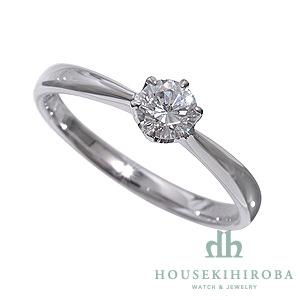 セミオーダー婚約指輪 HHR001 セッティングダイヤ 0.410-E-VS2-EX