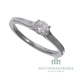 セミオーダー婚約指輪 HHR002 セッティングダイヤ 0.424-F-VVS1-EX