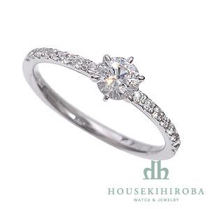セミオーダー婚約指輪 HHR003 セッティングダイヤ 0.494-D-VVS2-VG