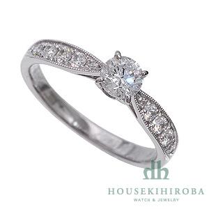 セミオーダー婚約指輪 HHR004 セッティングダイヤ 0.756-G-VS2-EX