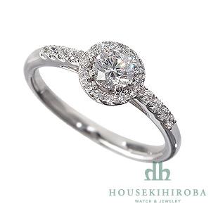 セミオーダー婚約指輪 HHR005 セッティングダイヤ 1.191-G-SI1-VG