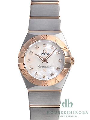 buy popular de92d ab4ab オメガ コンステレーション(新品)|腕時計の販売・通販「宝石広場」