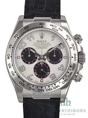 online retailer e1352 c64af ロレックス デイトナ ホワイトゴールド|腕時計の販売・通販 ...