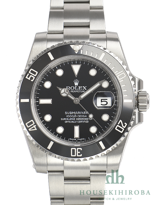 detailed look 1a6fe f9f12 ロレックス サブマリーナ(新品)|腕時計の販売・通販「宝石広場」