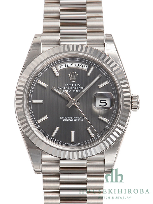 size 40 5250e 4dfef ロレックス デイデイト(新品)|腕時計の販売・通販「宝石広場」