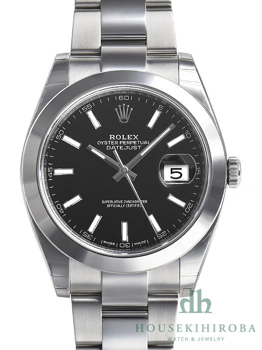 reputable site 4f61c 4b64c ロレックス デイトジャスト(新品)|腕時計の販売・通販「宝石広場」