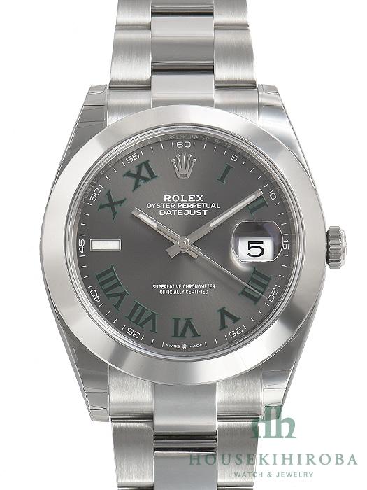 reputable site ee813 dbe1c ロレックス デイトジャスト(新品)|腕時計の販売・通販「宝石広場」