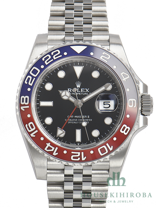 buy online 8d39a 01041 ロレックス GMTマスターII(新品)|腕時計の販売・通販「宝石広場」