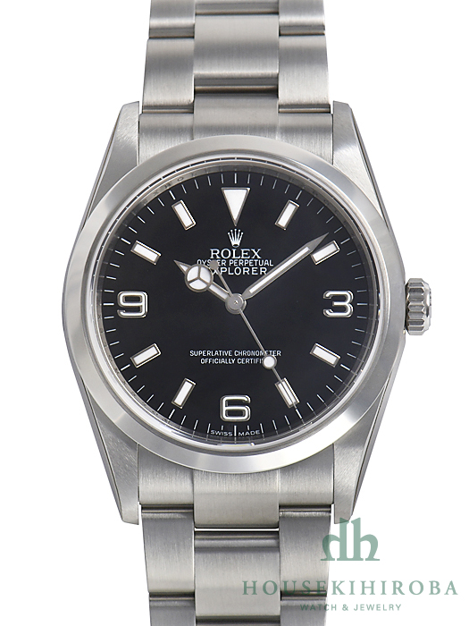 pretty nice 9f5ae 75746 ロレックス エクスプローラー(新品)|腕時計の販売・通販「宝石 ...