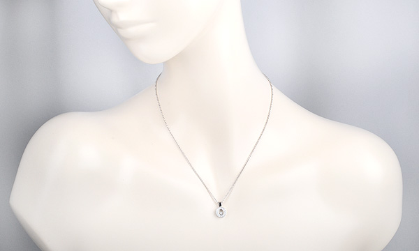 ハッピーダイヤ ペンダントネックレス