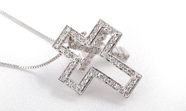 ベルエポック ダイヤペンダントネックレス(S)